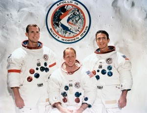 The Apollo 15 Prime Crew - GPN-2000-001169