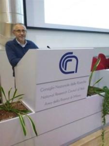 L'Ing. Alberto Villa durante la Relazione